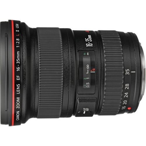 Canon 16-35mm f/2.8L II rental