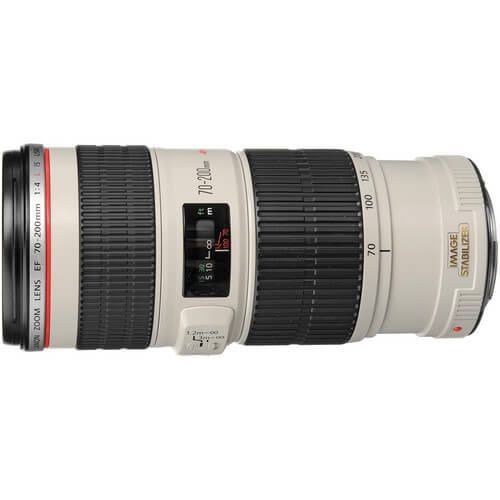 Canon 70-200mm f/4L IS rental