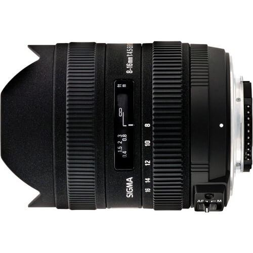 Sigma 8-16mm f/4.5-5.6 DC for Pentax rental