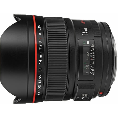 Canon 14mm f/2.8L II rental