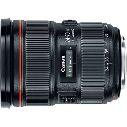 Canon 24-70mm f/2.8L II rental