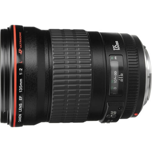 Canon 135mm f/2L rental