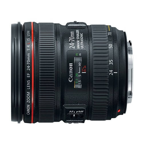 Canon 24-70mm f/4L IS USM rental
