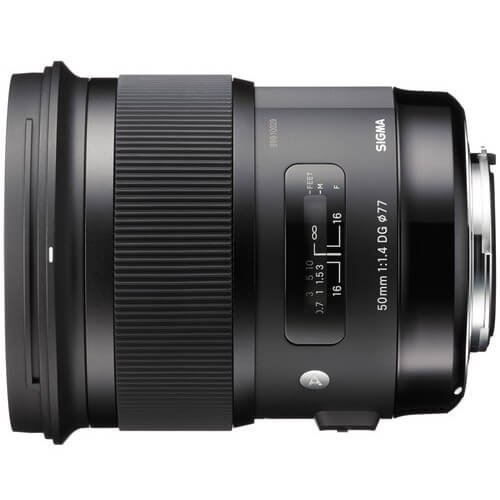 Rent Sigma 50mm f/1.4 DG HSM Art for Canon