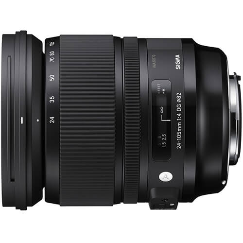 Rent Sigma 24-105mm F/4 DG OS HSM for Canon