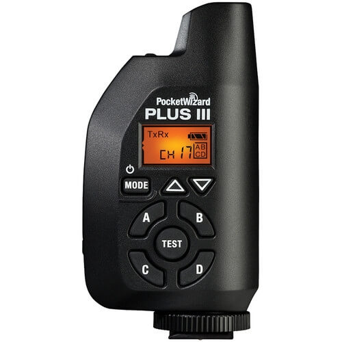 Rent PocketWizard Plus III Transceiver Radio Slave