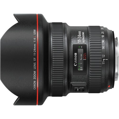 Canon 11-24mm f/4L EF USM rental