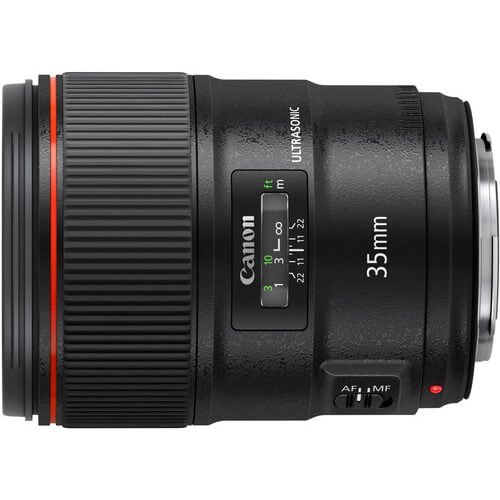 Canon 35mm f/1.4L II rental