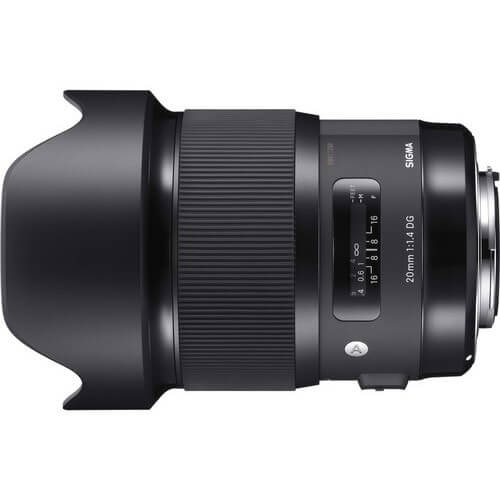 Sigma 20mm f/1.4 DG HSM Art for Canon rental