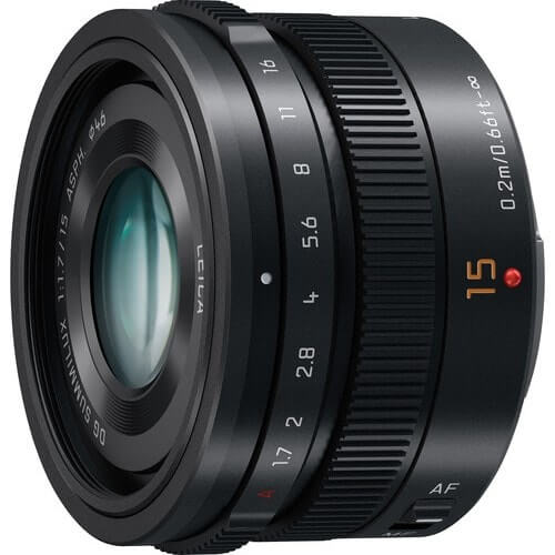 Panasonic Lumix 15mm f/1.7