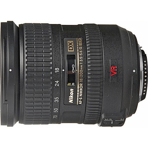 Nikon 18-200mm f/3.5-5.6G IF-ED AF-S DX VR rental