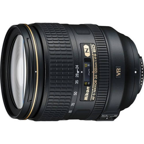 Nikon 24-120mm f/3.5-5.6G IF-ED AF-S VR rental