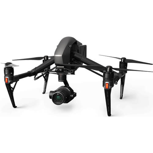 Rent DJI Inspire 2 Drone with Zenmuse X7