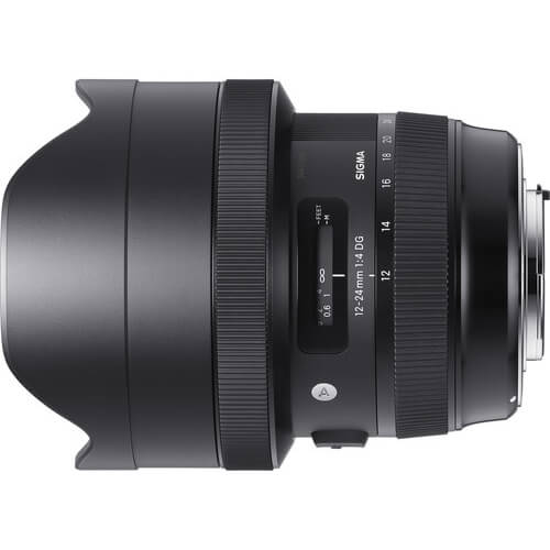 Rent Sigma 12-24mm f/4 DG HSM Art for Canon