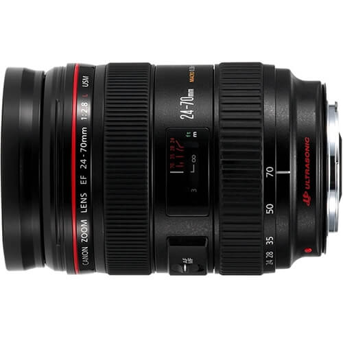 Canon 24-70mm f/2.8L rental