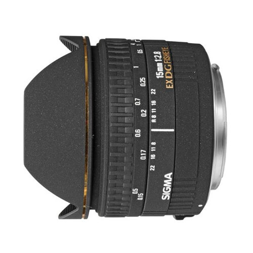 Sigma 15mm Fisheye f/2.8 for Canon rental